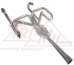 "Tri-Mil Mid Engine Bobcat Exhaust System With Stinger, 1 5/8"" Tubing, 3107"