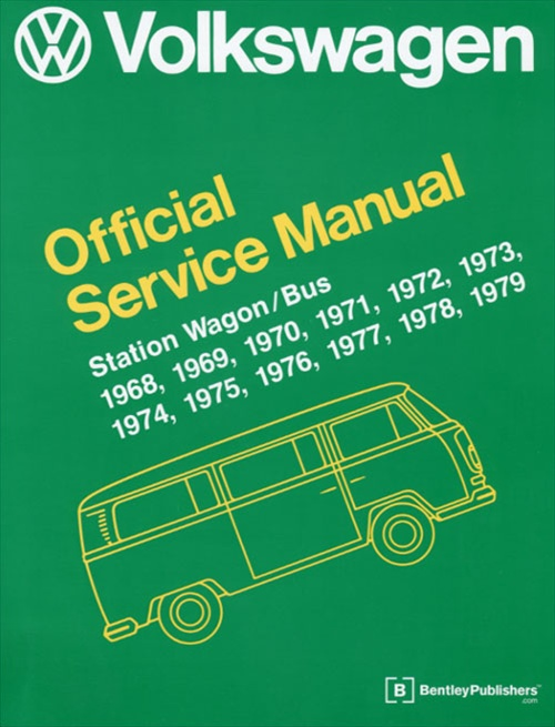 Bentley Manual: VW Official Service Manual VV ...