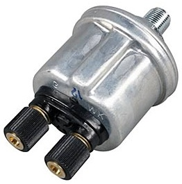 VDO 150psi Oil Pressure Sending Unit, 10 X 1mm, Dual Pole (7psi Switch)