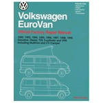 Official Bentley Service Manual 1992-99' Eurovan