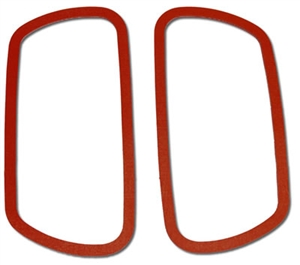 Fiberglass Reinforced Non-Slip Silicone Valve Cover Gaskets, T1/2/3, Pair, VW-1FR