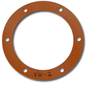 SILICONE Oil Drain Plate Gaskets, 1200 (40hp), 1300, 1500, and 1600cc Based Engines, Pair, VW-2