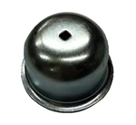 Wheel Bearing Grease Cap with Hole, Left, 1966-79 Type 1 and 3, 111-405-691B
