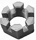 Rear Axle Nut, 36mm, 1949-66 Type 1 & 3, and 1950-63 Type 2, 111-501-221
