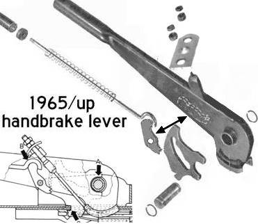 Emergency Brake Cable Balance Plate 3 Holes 1956 And