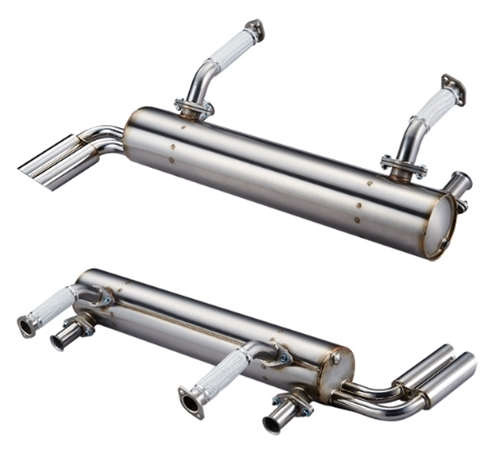 Vintage Speed Stainless Steel Sport Muffler Up To 125hp Abarth Exhaust Outlet: Vw Abarth Exhaust At Woreks.co