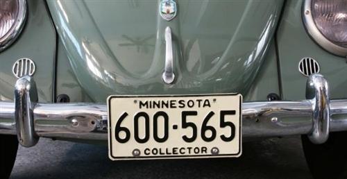 Vintage Speed Front License Plate Bracket For Pre 1967