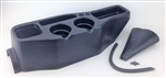 Floor Console, TMI Basic Style for 1965 and Later VW Beetle, Super Beetle, Karmann Ghia, THING, and Type 3, 25-1109