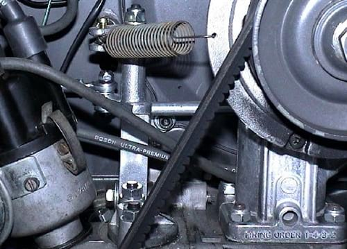 SCAT Centerpull Linkage, (Twist Linkage), Dual Carbs on UPRIGHT ENGINES  ONLY, Fits Dellorto DRLA, Weber IDF/IDA/ICT/DCNF, Kadron, and Solex PDSIT,