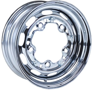 "5 Lug OEM Style Steel Wheel, Mangels Style, 15 x 5.5"", 3 5/8"" Back Spacing, 5 x 205mm Bolt Pattern, EACH"