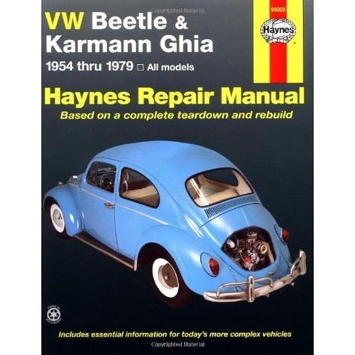 haynes manual beetle and ghia 1954 79 vw repair manual rh vwparts aircooled net vw beetle workshop manual pdf vw beetle repair manual 1970
