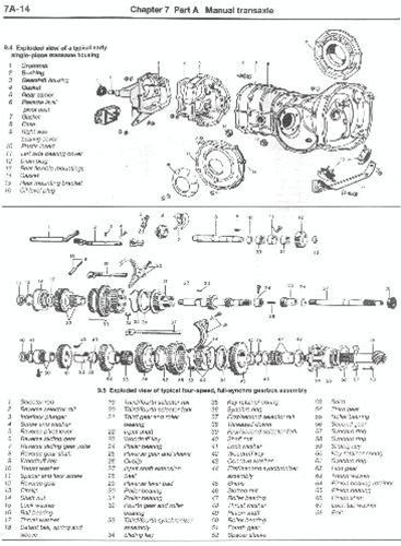 haynes manual beetle and ghia 1954 79 vw repair manual rh vwparts aircooled net vw beetle manual transmission convertible manual vw beetle 2013