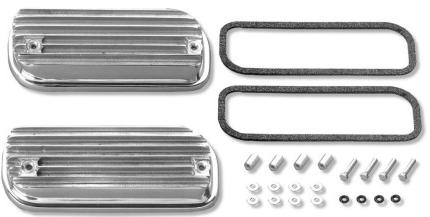 SCAT Bolt On Valve Covers, Type 4 Engines (1972-83 1/2 Type 2, and 4  Cylinder Porsche 914), PAIR, 80243