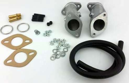 Redline Weber ICT Intake Manifold Kit, Single Port Type 1 AND Type 3  Engines, PAIR, 99003 401