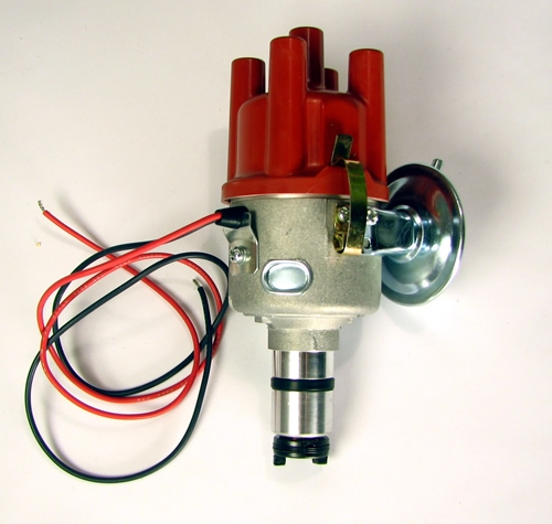 Distributor with vacuum unit and built in electronic ignition VW Beetle /& Type 2