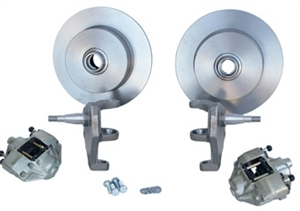 "Front Disc Brake Kit, Ball Joint Beetle and Ghia, 2 1/2"" Lowered, 4 x 130mm"