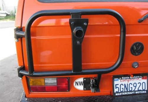 Burley Motorsports Swing Out Spare Tire Carrier For 1980-92 VW Vanagon,  Rear Left, 1980-92 VW Vanagon