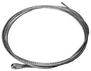 Heavy Duty Throttle Cable, 11'
