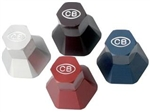 CB Performance Billet Aluminum Alternator and Generator Pulley Hex Nut and Spacer