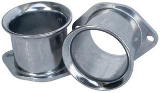 Cast Aluminum Velocity Stack, Fits 36 and 40mm Weber IDF and Dellorto DRLA,  1 5/8