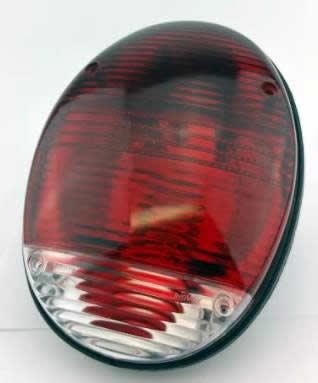 Vw Volkswagen bug Bus Reverse back up Light Lens Type 1 2 3 squareback fastback