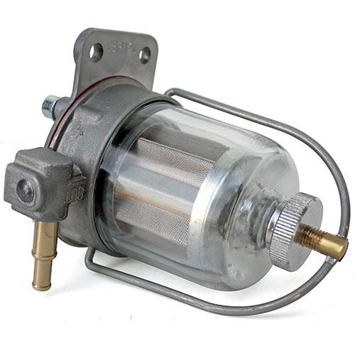 Fuel Pressure Regulator AND Filter, Combination Unit, Carbureted Engines,  1 5-5psi