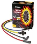 Pertronix Flame-Thrower 8mm Plug Wires, Male Terminal Distributor Caps, (CHOOSE COLOR)