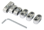 7mm (Stock) Plug Wire Separator Kit, Chrome, Set of 6