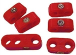 7mm (Stock) Plug Wire Separator Kit, Red, Set of 6