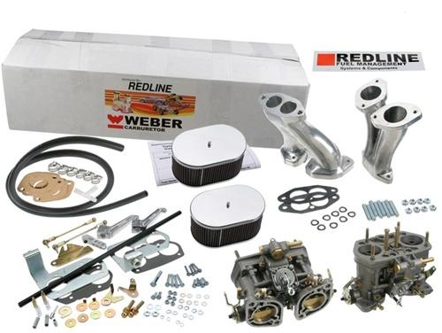 Dual Weber IDF Carb Kit, Dual Port Engines (but NOT GHIA), Redline