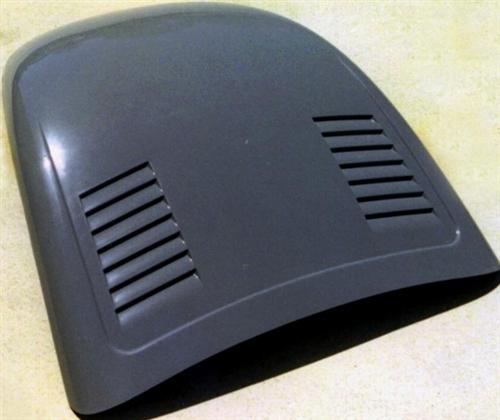 fiberglass front hood    vw super beetle smooth  side louvers sbhc