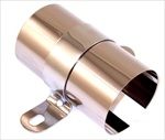 Stainless Steel Ignition Coil Cover w/Chrome Bracket