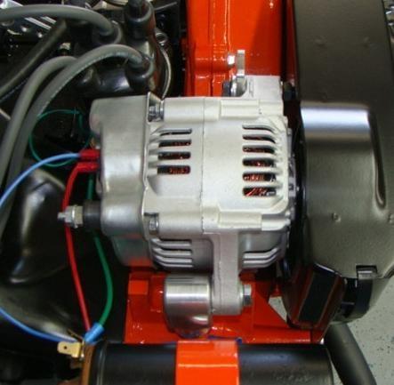alternator kit  amp alternator type  engines squareback fastback notchback