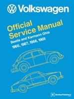 Vw repair manuals books for aircooled volkswagens volkswagen official service manual beetle and karmann ghia 1966 69 type 1 fandeluxe Gallery