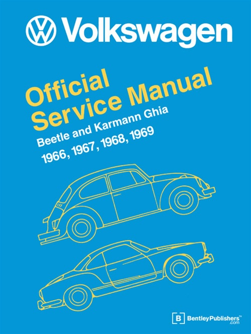 Bentley Manual  Vw Official Service Manual 1966