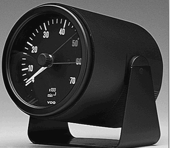 vdo 3 1 8 gauge mounting cup aircooled net vw parts rh vwparts aircooled net VDO Heritage Gauges VDO Oil Pressure Sender