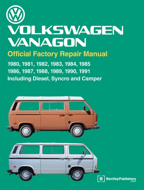 VV91 2 volkswagen vanagon official factory repair manual 1980 91 vanagons 1991 Vanagon Interior at crackthecode.co